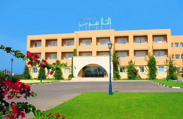 Nour Palace Mahdia holiday booking Spa Thalasso  accomdation stay  travel trip sea beach pool restaurant tunisia mahdia touristic  bar réception Golf sauna thalassotherapy